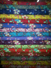 5-Yard Special HAPPY #1 Cotton Floral Quilting Fabric U-Pick 17 Colors