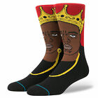 STANCE NEW Mens Socks Notorious BIG Black/Red BNWT