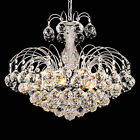 Modern Clear Crystal Ceiling Lamp Hanging Pendant Light Fixture Chandelier New