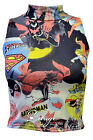 WOMENS LADIES SUPER GIRL BATWOMAN SLEEVELESS POLO TURTLE NECK STRETCH CROP TOP