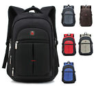 Men's Travel Rucksack Notebook Laptop Swiss Hiking Notebook Backpack Shape Bag