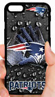 NEW ENGLAND PATRIOTS NFL PHONE CASE FOR iPHONE XS MAX X 8 7 6S 6 PLUS 5 5S 5C 4 $15.88 USD on eBay