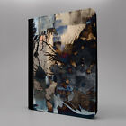 Abstract Tablet Flip Case Cover For Apple iPad - S-T2692