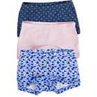 Ex High Street Brand Girls Cotton Boxer Shorts Briefs Knickers 3 PACK~2-10 Years