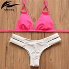 Women Padded Bra Swimsuit Push Up Bikini Set Swimwear Beachwear Bathing Suit Hot