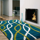 LARGE Fluffy SOFT Floor AREA SHAG SHAGGY RUGS CARPETS MATS in 330 x 240 cm