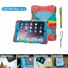 """Shockproof Rugged Hybrid Protective Case Cover For Apple iPad MINI AIR PRO 9.7"""""""
