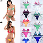 Women Push Up Padded Bra Bandage Bikini Set Swimsuit Triangle Bathing Swimwear