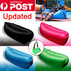 Fast Inflatable Lazy Lounge Lay Bag Air Sofa Travel Camping Beach Sleeping Bed