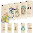 Watercolor Anime Totoro Fantasy Printed Phone Case Cover For iPhone 6/7/7Plus