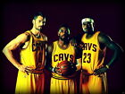 Lebron James The King Back Cleveland Cavaliers HUGE GIANT PRINT POSTER