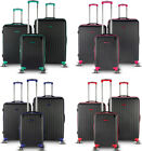 """New """"MOTUS"""" Special Size Durable Light Weight ABS Upright Hard Shell Luggage Set"""