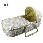 Hot Baby Moses Basket Lovely Printing Newborn Cradle Breathable Infant Bassinet