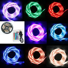 5V 5050 60SMD/M RGB LED Strip Light Bar TV Back Lighting Kit + Remote Control UK