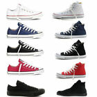 ALL STARs Men Women's Chuck Taylor Ox Low High Top shoes casual Canvas Sneakers