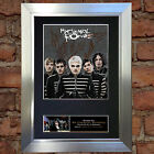 MY CHEMICAL ROMANCE Signed Autograph Mounted Reproduction Photo A4 Print 112