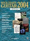 """ROCK CHARTS GUITAR"" 2004 TAB EDITION MUSIC BOOK RARE OUT OF OF PRINT ON SALE!!"