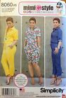 Simplicity 8060 Misses Jumpsuit in 2 Lengths Sizes: 6 -24 Mimi G  You Pick NEW