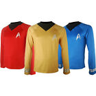 Star Trek costume captain Kirk shirt Halloween costume X'mas gift for kids adult