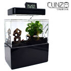 Cunze Mini Nano Acrylic Fish Tank DIY Fun Desk Heatabl Fish Bowl Water Plants
