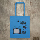 UNPLUG THE DRUG new tote bag Weapon of Mass Deception, think outside the box