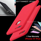 Ultra Thin Shockproof Silicone Case TPU Gel Cover For Apple iPhone 7 6 6S Plus
