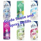 1 x GLADE SENSE AND SPRAY AIR FRESHENER REFILL - choose your fragrance!