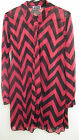 Red and Black Zig Zag Striped Shirt from Cherry Couture