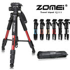 ZOMEI Q111 Professional Travel Tripod&Pan Head Aluminum Portable For DSLR Camera