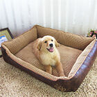 Dog Bed Waterproof Oversize Cat Pet Puppy Cushion House Washable kennel S M L XL