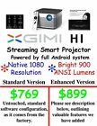 XGIMI H1 SHIPS FROM USA  LED Projector Native 1080P HD 900 ANSI Smart Streaming