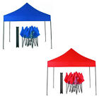 3x3 Meter FULLY WATERPROOF Pop Up Gazebo Option To Inc 4 Side and 3 Side Cover