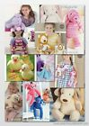 Sirdar Snuggly Snowflake/Ophelia/Baby Crofter Toy Patterns 1243-4761 £2.90 each