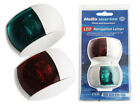 Hella Marine 2NM NaviLED Port and Starboard Pair 8-28V Kit Coloured Lens 120mm C