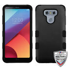 LG G6 H872 IMPACT TUFF HYBRID Rugged Protective TPU Rubber Hard Case Phone Cover