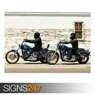 HARLEY DAVIDSON MOTORCYCLE 3 (AC525) BIKE POSTER - Poster Print Art A0 A1 A2 A3 £3.55 GBP on eBay