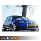 VOLKSWAGEN GOLF R32 (AB876) CAR POSTER - Photo Picture Poster Print Art A0 to A4