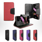 Folio Card Slot Photo Frame Holder Wallet Case For Boost Mobile LG X POWER LS755