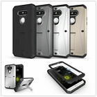 Shockproof Heavy Duty Full Body Hybrid Hard Stand Case Cover For iPhone/Samsung