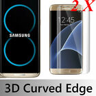 2X  Samsung Galaxy S8 S8 Plus 3D Full Cover Tempered Glass Film Screen Protector