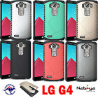 LG G4 Case Cover Tough Armor Shield TPU Rubber Hard Case for LG G4