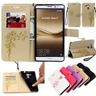 Flip Leather Magnetic Wallet Card Slot Stand Case Cover For Huawei Ascend /Honor