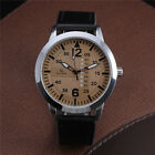 New Military Steel Case V6 Fashion Men's Analog Quartz Leather Wrist Watch Army