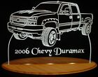 """2006 Chevy Duramax PU Edge Lit Awesome 21"""" Lighted Led Sign Plaque 06 VVD1 USA"""