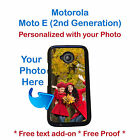Personalized Photo Picture Phone Case Cover for Motorola Moto E 2nd Generation