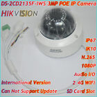 Hikvision DS-2CD2135F-IWS 3MP IP Camera POE SD Card Audio Wifi 3-axis adjustment