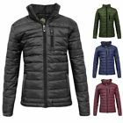 Kids Puffer Quilted Boys Bubble Padded Girls Puffa Childrens Warm Zip Jacket