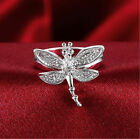 Graceful Wedding Engagement New Women Fashin Dragonfly Sweet Anniversary Rings