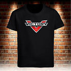 Victory Motorcycles USA Black T-Shirt Custom Men's S to 3XL