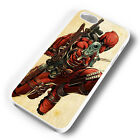 DEADPOOL GUN BARRELL RUBBER PHONE CASE COVER FITS IPHONE 4 5 6 7 (#WR)